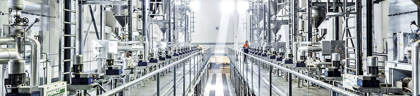NUREL Facilities Fibers Spinning Plant