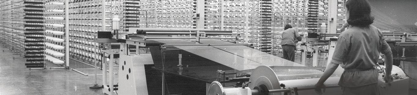 Urdido 1968 planta de NUREL